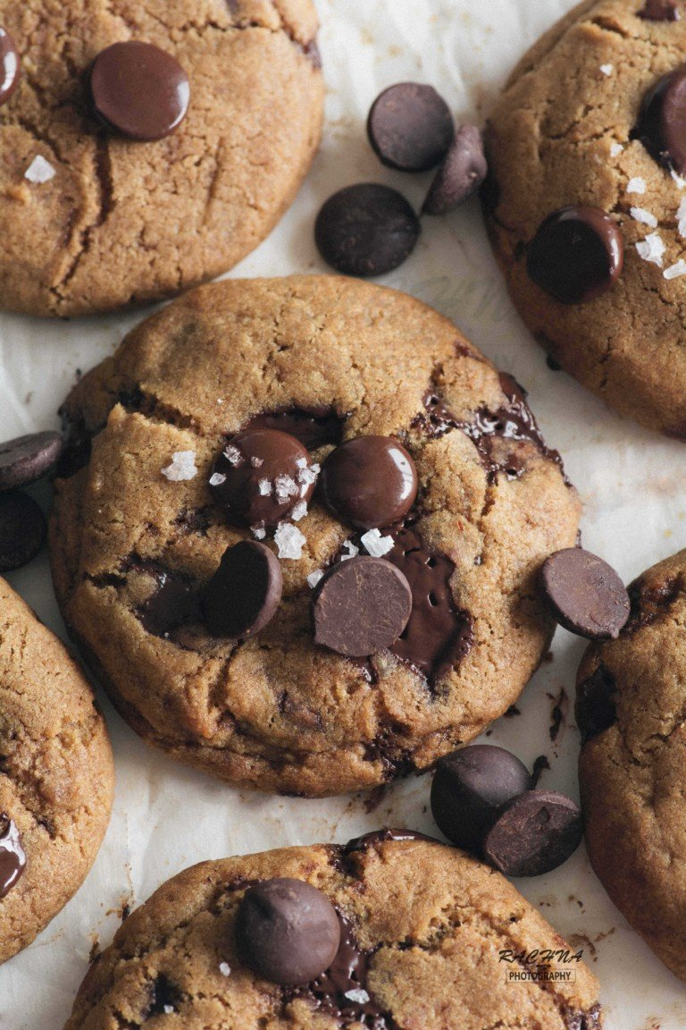eggless chocolate chip cookies recipe