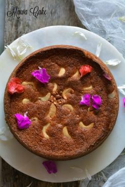 Mawa Cake Recipe | How to make eggless mawa cake