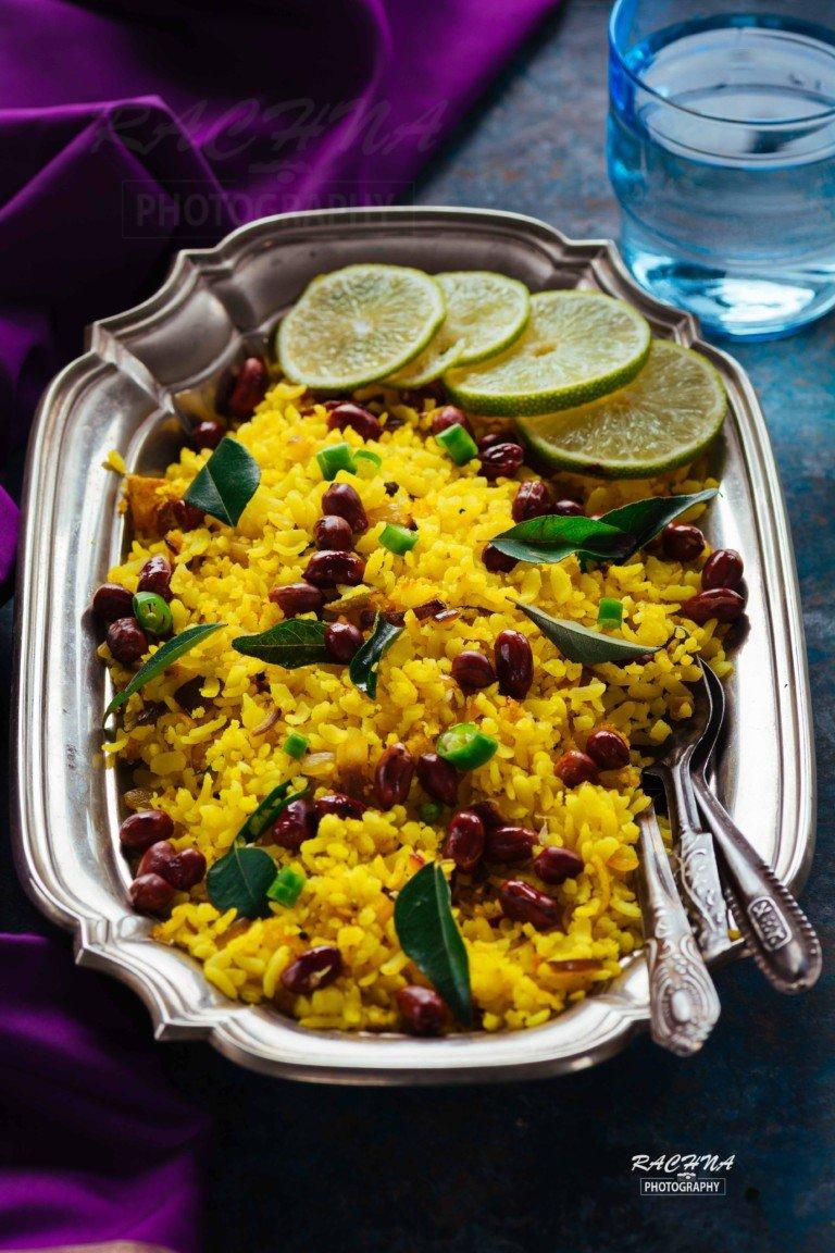Kanda poha Maharastrian style, Onion Poha recipe