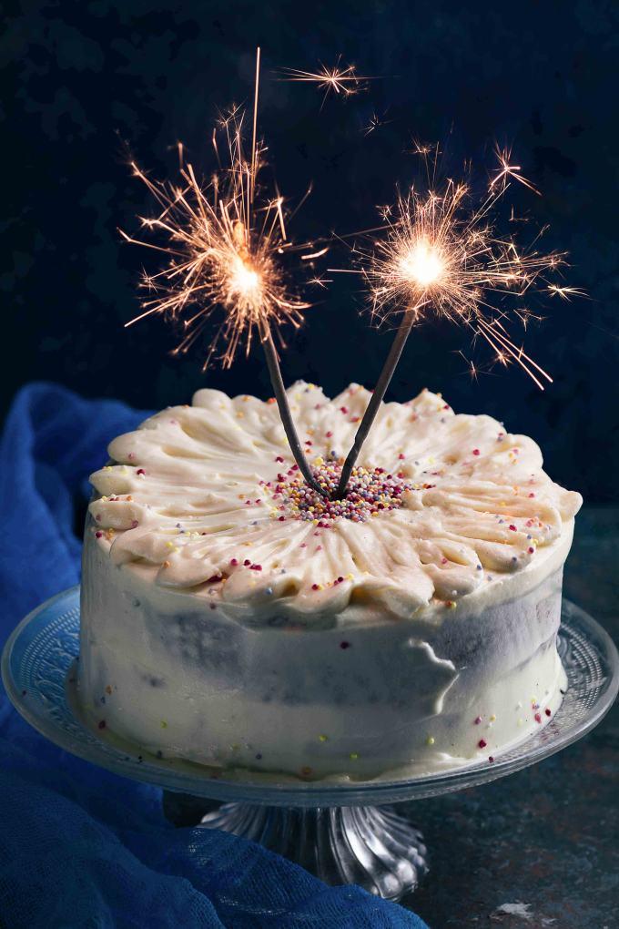 Eggless vanilla cake recipe   vanilla cake without egg