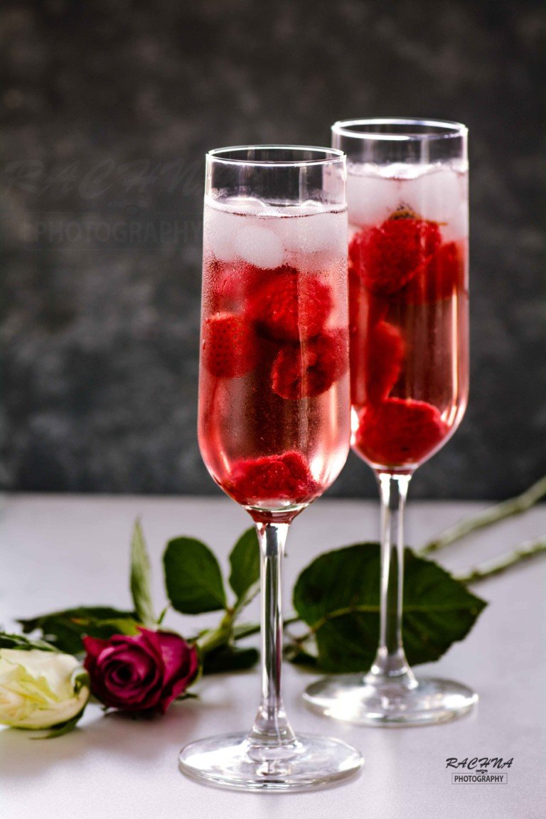 Raspberry Sangria Mocktail Recipe