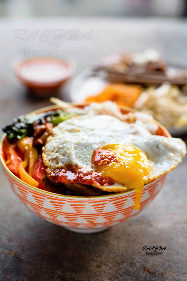 Korean chicken Bibimbap recipe